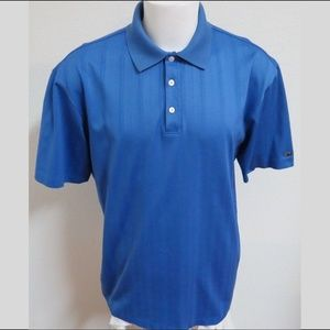 XL Textured Nike Dri-Fit Tiger Woods Men #379 Polo